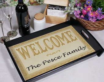 Welcome Home Serving Tray -gfy42046ST