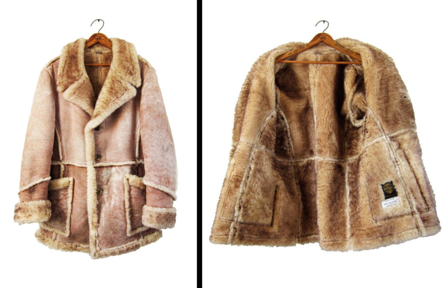 Shearling Coat Mens Photo Album - Blackfashionexpo