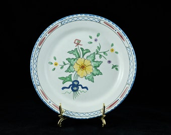 """Vintage Tiffany and Co Hand Painted """"Lisbon"""" Plate"""