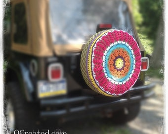 A *Special Order* Crocheted Spare Tire Cover