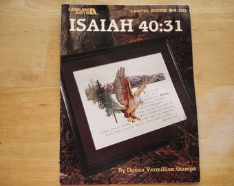 Leisure Arts Needlepoint Leaflet Issue 2569 ISAIAH.