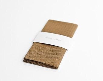 Gold men's pocket square