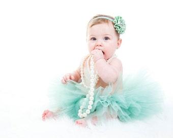 Baby Tutu, Flower Headband, Many Colors, You Choose, Fast Shipping