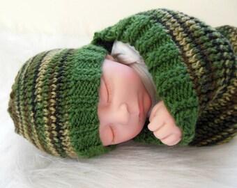 Cocoon, Sleep Bag, Sleep Sack, Blanket, Wrap in Camo