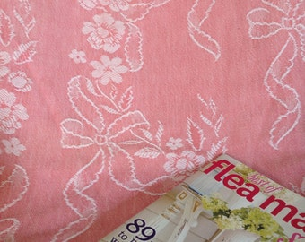 Vintage Shabby Cottage Chic Pink Chic Bedspread