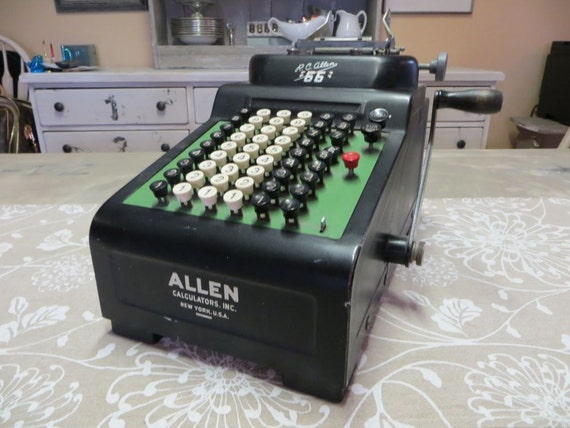 rc allen adding machine
