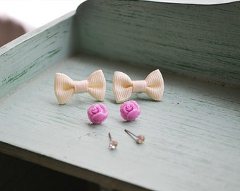 Sweet Beginnings Stud Earrings Set