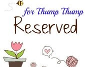 Reserve Listing for ThumpThump