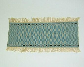 Miniature Vintage Woven Sampler