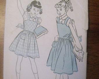 "Vintage ""Advance"" Girls Dress Pattern 5061"