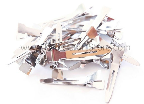 100 Single Prong Alligator Clips -- ETSY