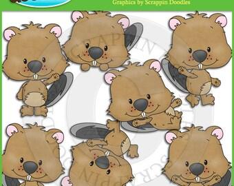 Brooky Beaver Clip Art