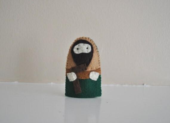 Saint Joseph - Catholic Saint - Toy Finger Puppet