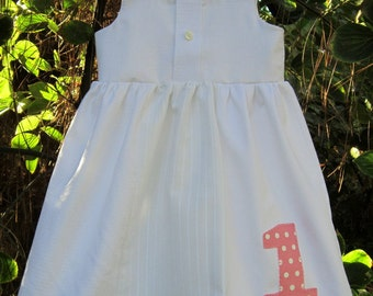 Custom Order--First Birthday Dress---Matching Sibling Clothing Available