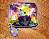 Lisa Frank Hologram Holographic Kittens Bag