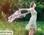 Dancing Hearts Wrap Crochet Shawl Pattern PDF