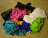 Mix Faux Fur Lot Fur Scraps free shipping