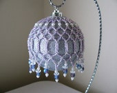 Lilac Ornament/Candle Cover
