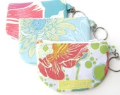 Keychain I.D. Wallet - Original Textile Designs - FREE SHIPPING
