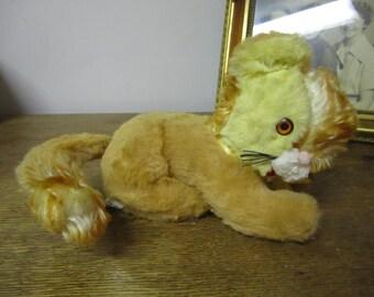"Wonderful ""Gund"" Musical Toy Cat.... working. Collectible toy."