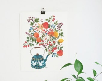 A teapot's Dream - 8x10 art print
