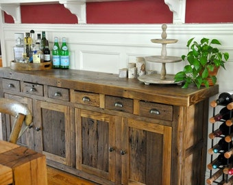 Reclaimed Chestnut Buffet - Ready To Ship