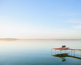 Photograph of Lake Monona Dock