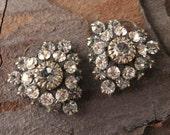 Crystal Swarovski Multi Stone Heart Charms in Oxidized Brass Settings 17x19mm (2)