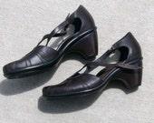dansko dark brown shoes size 39