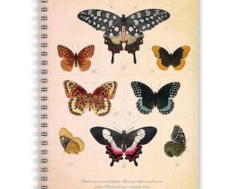 Notebook A5 - Butterflies
