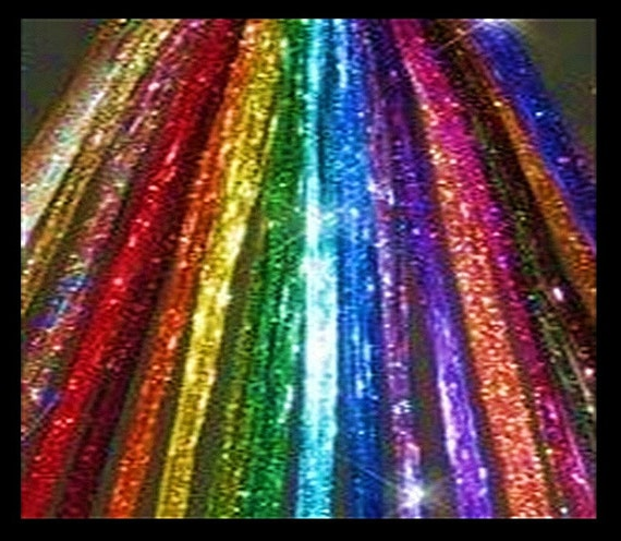MIX or MATCH Hair Tinsel - Choose Your Colors - Each Strand is Super Long at 40 inches - Fast Shipping from USA