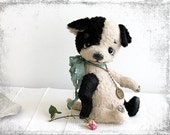 PATTERN Download to create Teddy Sweet Puppy Black Ear 8 inch