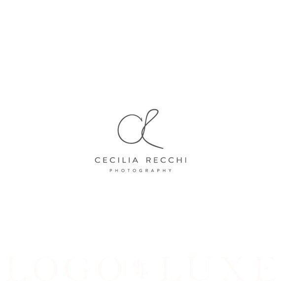 custom photography logo logo design photography by logoluxe