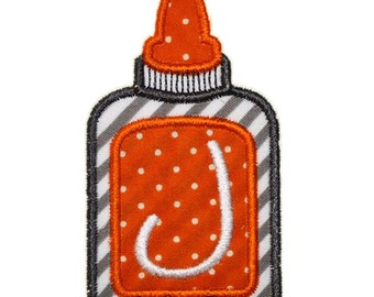 Instant Download Glue Bottle Embroidery Applique Design 4x4, 5x7 and 6x10