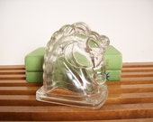 Etched Glass Horse Head, Bookend, Book End, Hollywood Regency