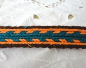 Hand Woven Trim or Braid, Tablet/Card Weaving, Multi-Use for Garb, Home Decor. Belts. Clothing and Much More!