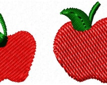 Apples Embroidery Design - Instant Download