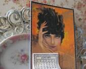 Art Nouveau Calendar for Dollhouse