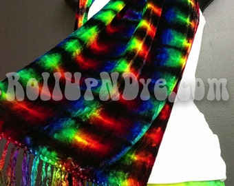 Tie dye scarf, Made to order