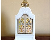 Vintage Avon Bottle armoire decanter Bird of Paradise bath oil