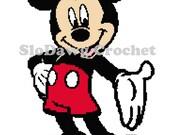 Mr. Mouse - crochet graph pattern