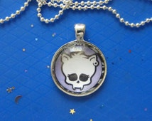 Skull Pendants! Vampire Skull, Frankenstein Skull, Glass Case, Pendants! Monster Teens, Girls Gifts, Tween Gifts, Teen Gifts, Popular Gifts