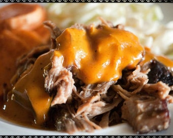 Jans Mustard Barbecue Sauce and Shredded Pork Recipe~~~Instant Download