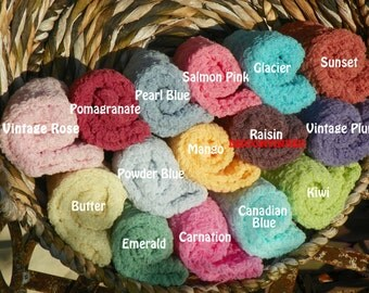 Set of Eleven Cheesecloth Photography Props...Over 75 Colors...Newborn Props...Newborn Cheesecloth Wraps...Cheesecloth Wraps...Wraps...Baby