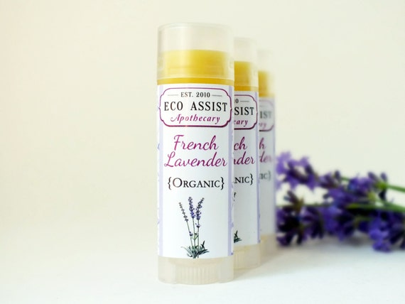 Organic Lip Balm French Lavender