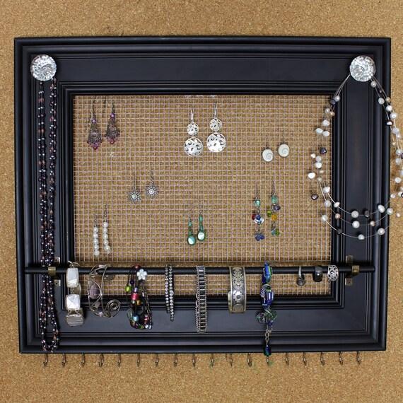 Custom Jewelry Display Frame: Jewelry Organizer Display Rack Holder Picture By