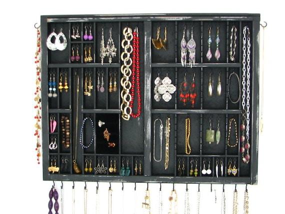 Apartment Jewelry Organizer with Ring Storage
