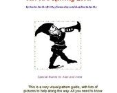 How To Make an Elf / Gnome Hat on a Knitting Loom PDF guide
