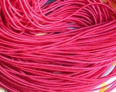 25 metres of 1mm Hot Pink Elastic String for beading