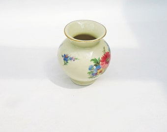 Vintage Hertel Jecob Miniature Vase, 1960s-1980s, Bavaria China, UK Seller